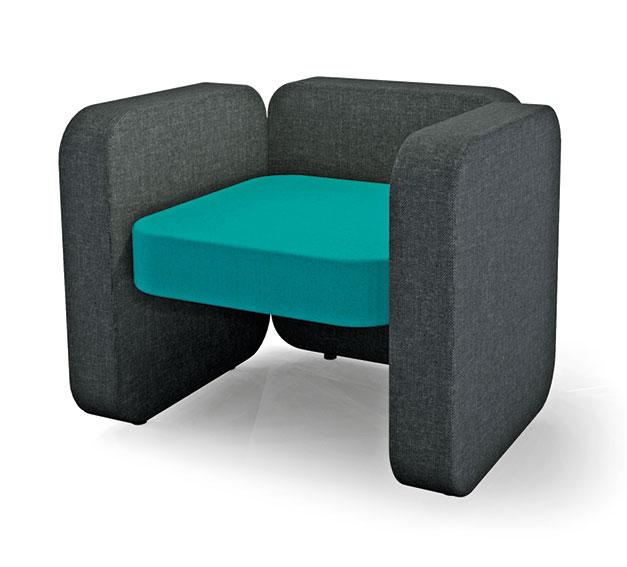 mobilier assise en tissu jules jim design simone micheli. Black Bedroom Furniture Sets. Home Design Ideas
