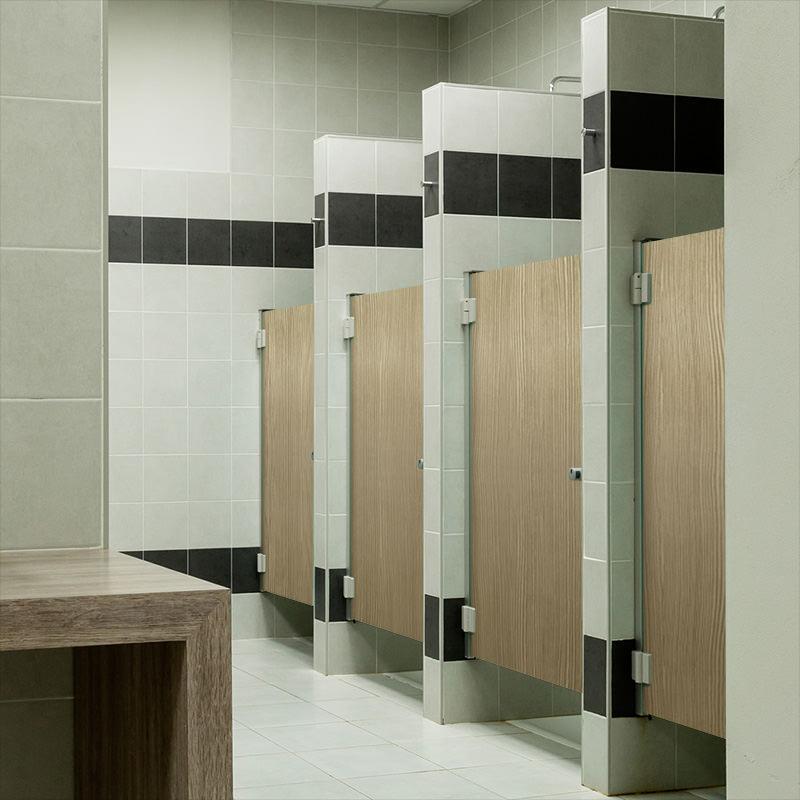 Hygi ne sanitaires cabine de douche hpl - Cabine douche mobil home ...